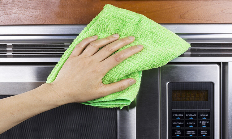 How To Clean A Microwave Filter?