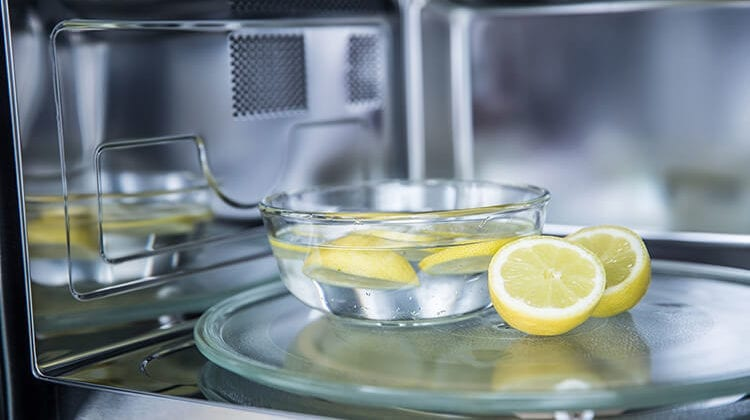 How To Deodorize A Microwave Safely